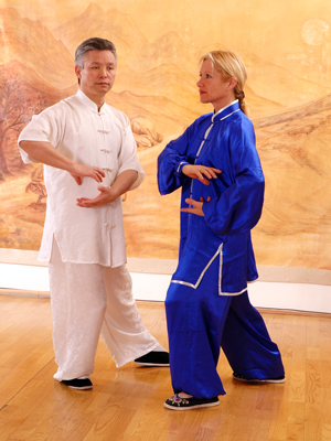 Maître Kunlin Zhang et Catherine Bousquet