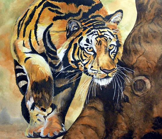 Qi Gong du Tigre, force tranquille, puissance de l'action