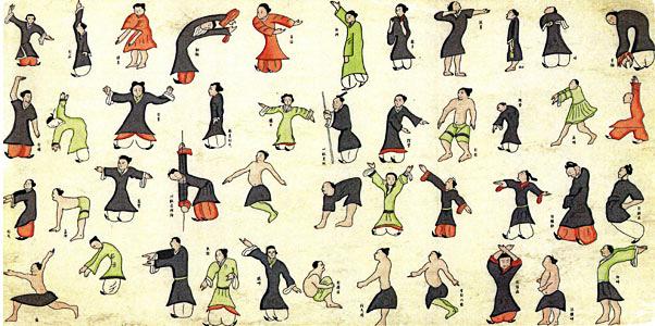 Les enchainements de Qi Gong