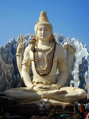 Statue de Shiva en Inde