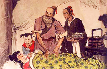 Médecin traditionnel chinois