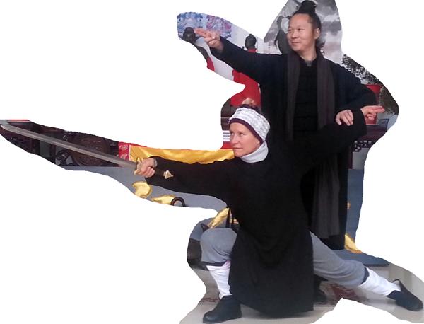 Catherine Bousquet et Maître Yuan Li Min