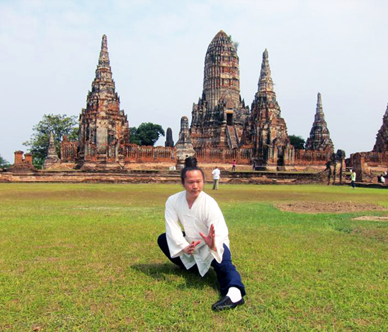 Maître Yuan Li Min en Thaïlande