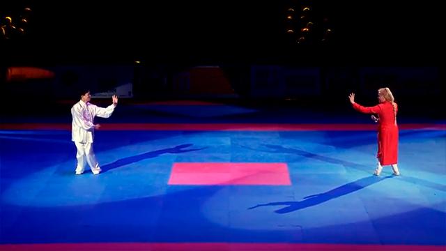 Démonstration de Bagua Zhang lors de la 33ème Nuit des Arts Martiaux