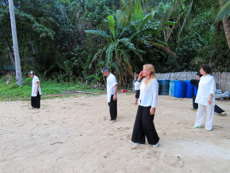 Pratique sur la plage