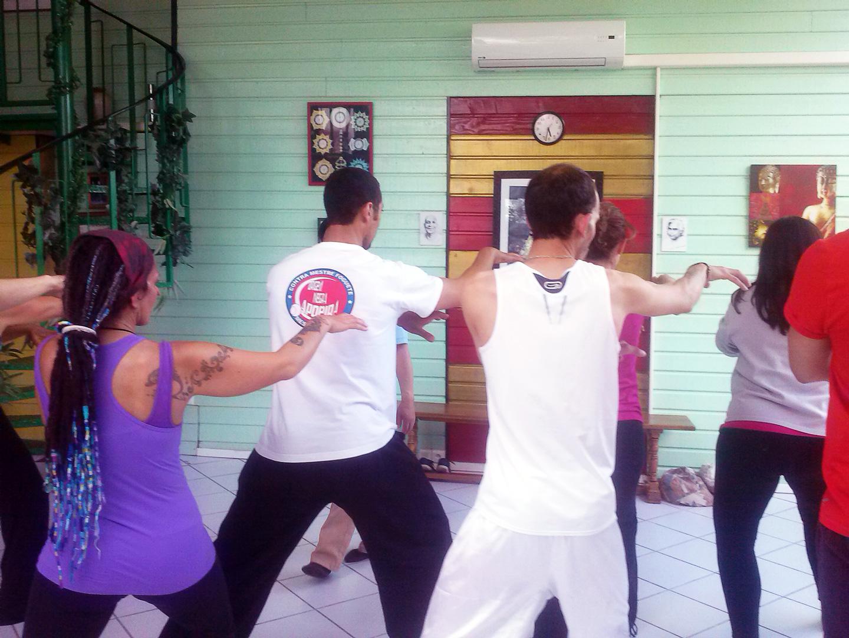 Cours de Qi Gong du Tigre à Terre d'Asie