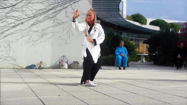 Démonstration de Bagua Zhang par Catherine Bousquet