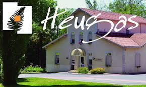 Le village Heugas dans Les Landes en Aquitaine